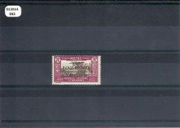 NVLLE CALEDONIE 1933 - YT PA N° 16 NEUF AVEC CHARNIERE * (MLH)  GOMME D'ORIGINE TTB - Airmail