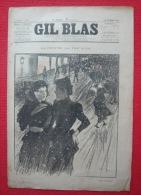 Gil Blas, Illustré Hebdomadaire N° 51 Du 23 Décembre 1894 - Books, Magazines, Comics