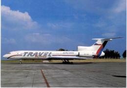 Thème -  Avion - OKC  A293 - Travel Service Airplanes TU 154M - Prague 1997 - 1946-....: Moderne