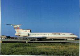 Thème -  Avion - OKC  A387 - Sibaviatrans TU 154M - Frankfurt 1998 - 1946-....: Moderne
