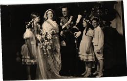 NEDERLAND DYNASTIE   7 PC Prinselijk Bruidspaar  Kon Wilhelmina - Royal Families