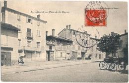 69 SAINT LAGER PLACE DE LA MAIRIE 1908 - France