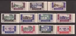 MA280-L4115TTSC.Marruecos . Maroc.  Marocco.MARRUECOS  ESPAÑOL.1948  (Ed 280/90**)sin Charnela.MAGNIFICA. - Transporte