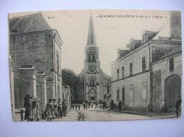 """BEAUMONT EN VERON """" église """"  (37420) - France"""
