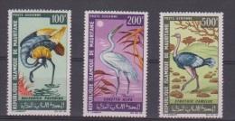 MAURITANIE // N 64-65-66 //  Oiseaux¨// NEUFS ** - Mauritania (1960-...)