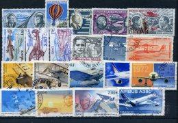 Lot De Poste Aerienne Oblitérés Petit Prix De Depart (n° 665) - 1960-.... Oblitérés