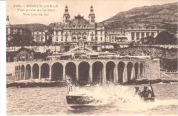 MONTECARLO VISTA DESDE EL MAR - Monte-Carlo