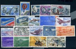 Lot De Poste Aerienne Oblitérés Petit Prix De Depart (n° 659) - 1960-.... Oblitérés