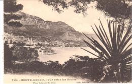 MONTECARLO - VISTA ENTRE ARBOLES - Monte-Carlo