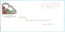 PORTUGAL AFS Meter Cover Freistempel Brief Lettre - 26.08.83 Santiago Do Cacem --- Santiago ....  (26198) - Affrancature Meccaniche Rosse (EMA)