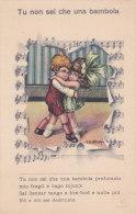 """CARD BERTIGLIA BIMBI  BALLO TANGO  CANZONETTA """"TU NON SEI CHE UNA BAMBOLA"""" COME DA SCANNER -FP N-2-   0882 19565 - Bertiglia, A."""