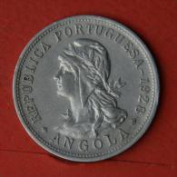 ANGOLA  50  CENTAVOS  1928   KM# 69  -    (Nº04609) - Angola