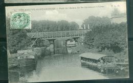 N°11 -  Villeneuve Saint Georges   - Pont Du Chemin De Fer Traversant L'yerres  - Dak187 - Villeneuve Saint Georges