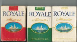 Boite D´allumettes Royal Pleine - Boites D'allumettes