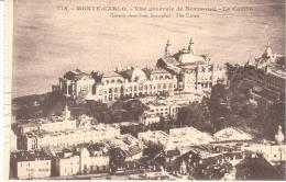 MONTECARLO - VISTA GENERAL DE BEAUSOLEIL- EL CASINO - Monte-Carlo