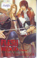Carte Prépayée Japon * MANGA * FLESH & BLOOD  *  ANIMATE * ANIME (12.150) Movie Japan Prepaid Card Tosho Karte * - Film