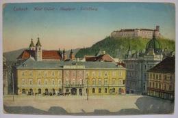 LJUBLJANA - LAIBACH - Hotel Elefant - Hauptpost - Schlossberg - Slovenia A43/09 - Slowenien
