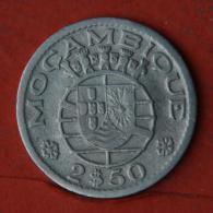 MOZAMBIQUE  2,5  ESCUDOS  1955   KM# 78  -    (Nº04626) - Mozambique