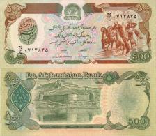 Billet AFGHANISTAN De 500 Afghanis  Pick 60b. - Afghanistan