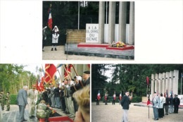 Z  01  PHOTOS FORMAT CARTE LES EPARGES DETACHEMENT DU GENIE GENERAL FRANCOISE LOT DE 6 PHOTOS - Autres Communes