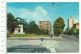 1965,Lombardia, Brescia - Via XX Settembre - Monumento Zanardelli  -  Viaggiata° - Brescia