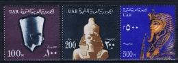 Egypt: 1964 Mi Nr 201 - 203 MNH/** - Egypte