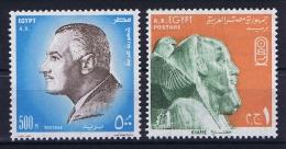 Egypt: 1972 Mi Nr 557 - 558 MNH/** - Egypte