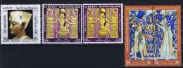 Egypt: 1972 Mi Nr 559-562 MNH/**, 560 A + B - Egypte