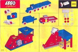 LEGO SYSTEM - Plan Notice 400 - (B-102 Pat. Pend.) - Plans
