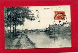 VIERZON 1918 PONT SUR LE CHER CARTE EN BON ETAT - Vierzon