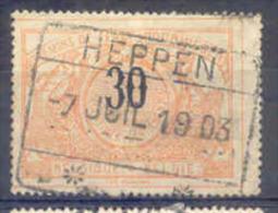 A372 -België Spoorweg Chemin De Fer Stempel HEPPEN - 1895-1913