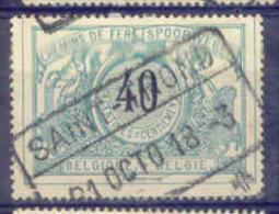A380 -België Spoorweg Chemin De Fer Stempel SAINT - TROND - 1895-1913