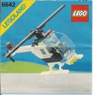 LEGO - LEGOLAND 6642 - Plan Notice (Hélicoptère De La Police) - Plans
