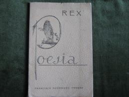 Rex-Poesia-Francisco Rodriguez Perera-1946 - Poesía