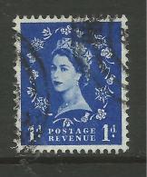 GB 1958 QE2 1d Wilding Wmk 179 SG 571. ( E619 ) - 1952-.... (Elizabeth II)