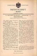 Original Patentschrift -M. Magerstädt In Mühlhausen I.Th. 1895, Russische Rechenmaschine , Rechner , Schule , Mathematik - Maschinen