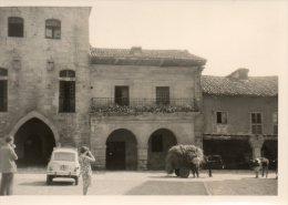 PHOTO ANCIENNE Santillana Del Mar 4L ATTELAGE VACHE    95 - Places