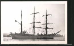 CPA Segelschiff Am Le Port - Voiliers