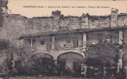 Cpa,Sommières,gard,intéri Eur Du Chateau,les Casernes,temples Des Romains,endroit Plein D´histoire,rare - Sommières