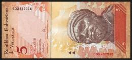 VENEZUELA. 5 Bolivares - 24.05.2007. Pick 89. UNC - Venezuela