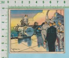 Empire Defence Gum Inc, C 1941 (No.34 Destroyer Torpedo Drill  ) Bilingue 2 Scans - 1939-45