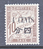 FRANCE  OFFICE IN CHINA  J 34  * - China (1894-1922)