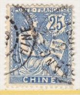 FRANCE  OFFICE IN CHINA  38  (o) - China (1894-1922)
