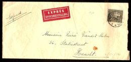 Nr. 530 Op EXPRES - Brief Verzonden Van BRUSSEL Naar HAACHT Dd. 27/12/1940 (zie Alle Scans) ! - 1936-1951 Poortman