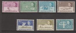 British Antarctic Territory 1963 QEII Definitives Part Short Set Of 7 To 1 Shilling MNH - British Antarctic Territory  (BAT)
