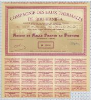 Eaux Thermales De Bou Hanifia En Algérie - Eau