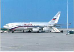 Thème -  Avion - OKC A890 - Rossija IL 6 300 - Erfurt 2002 - 1946-....: Moderne