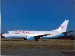 Thème -  Avion - OKC A1006 - Islandsflug B 737 3Q8 - Hamburg 2004 - 1946-....: Moderne