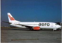 Thème -  Avion - OKC A1018 - AERO B 737 3H9 - Prague 2006 - 1946-....: Moderne