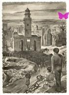 RECUEILLEMENT - J.E.Marcel Le Cornec - Messe Anniversaire VIRE Juin 1945 - Place De La Tour Horloge - Vire
